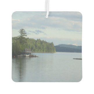 Newfound Lake Pretty New Hampshire Car Air Freshener