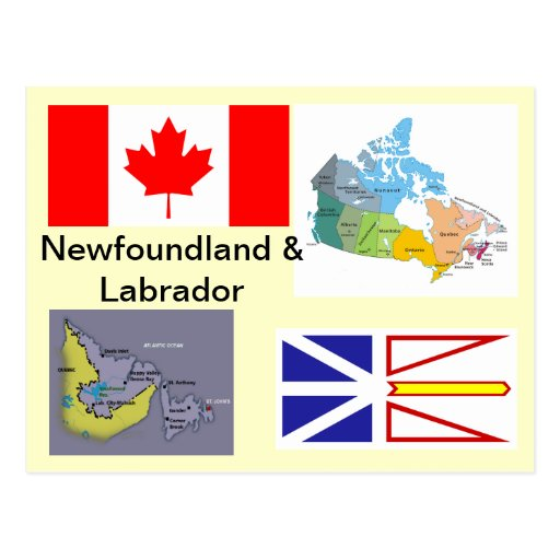 Newfoundland and Labrador Canada Postcards