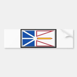 Newfoundland and Labrador Flag Bumper Sticker