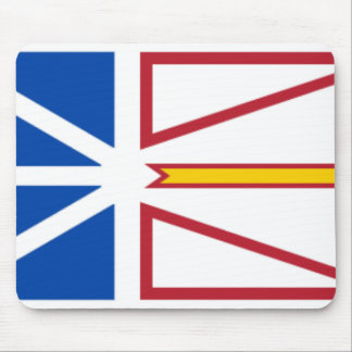 Newfoundland and Labrador Flag Mousepad
