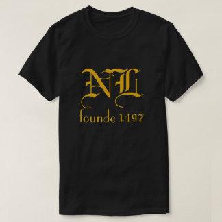 Newfoundland and Labrador Initials Founde 1497 - T-Shirt