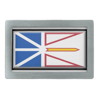 Newfoundland and Labrador Rectangular Belt Buckle