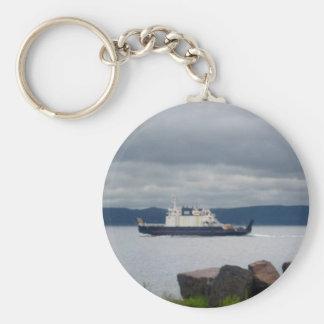 Newfoundland Bell Island Ferry Flanders Keychain