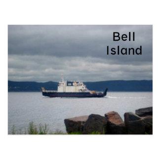 Newfoundland Bell Island Ferry Flanders Postcard
