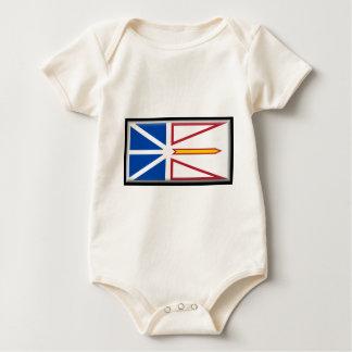 Newfoundland (Canada) Flag Baby Bodysuit