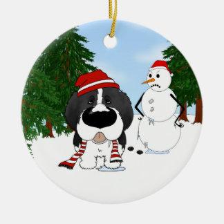 Newfoundland Christmas Ceramic Ornament