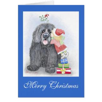 Newfoundland Christmas Greeting Card