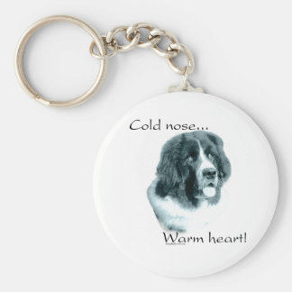Newfoundland Cold Nose Keychain