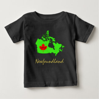 Newfoundland Customize Love Canada Province Baby T-Shirt