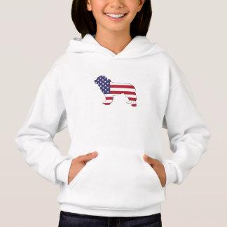 """Newfoundland Dog - """"American Flag"""""""