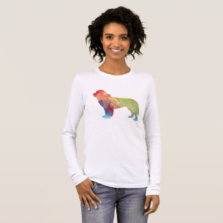Newfoundland Dog Art Long Sleeve T-Shirt