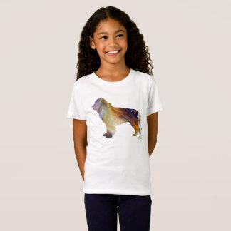 Newfoundland Dog Art T-Shirt