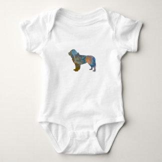 Newfoundland Dog Baby Bodysuit