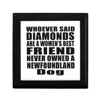 NEWFOUNDLAND DOG BEST FRIEND DESIGNS GIFT BOXES