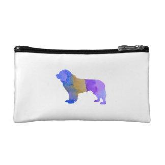 Newfoundland Dog Cosmetics Bags