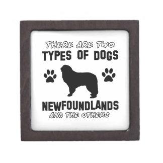 Newfoundland dog Designs Premium Gift Boxes