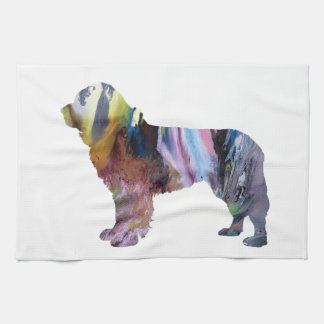 Newfoundland Dog Kitchen Towel