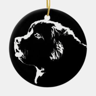 Newfoundland Dog Ornament Christmas Dog Decoration