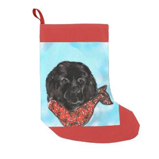 Newfoundland Dog Small Christmas Stocking
