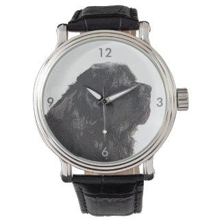 Newfoundland Dog Time Watch