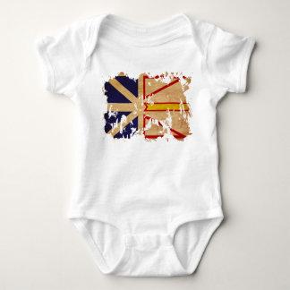 Newfoundland Flag Baby Bodysuit