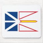 Newfoundland Flag Mousepad