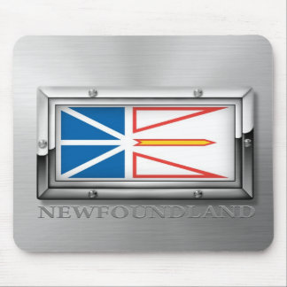 Newfoundland Flag (Steel) Mouse Pad