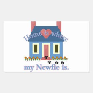 Newfoundland Home Is Sticker