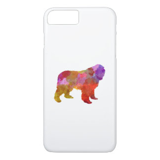 Newfoundland in watercolor iPhone 7 plus case