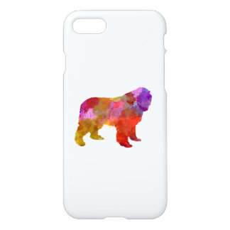 Newfoundland in watercolor iPhone 8/7 case