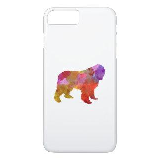 Newfoundland in watercolor iPhone 8 plus/7 plus case