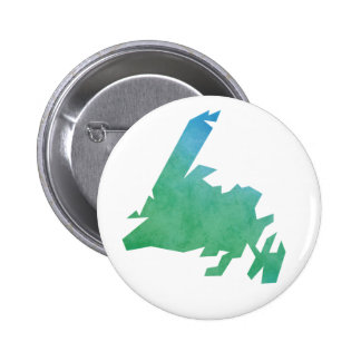 Newfoundland Map 2 Inch Round Button