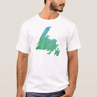 Newfoundland Map T-Shirt
