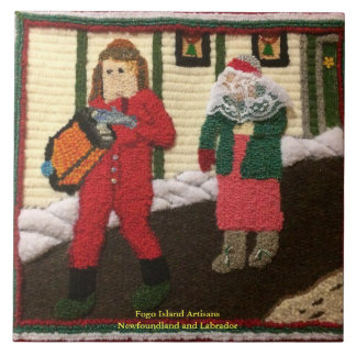 Newfoundland Mummers heading out Tile