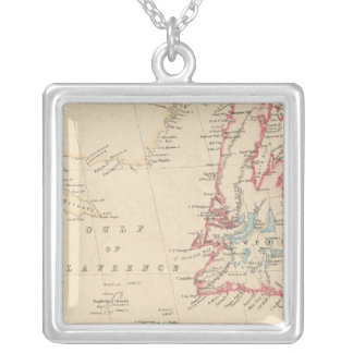 Newfoundland, New Brunswick, Nova Scotia Silver Plated Necklace