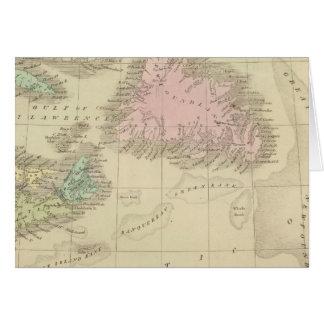 Newfoundland, Nova Scotia, and New Brunswick Card