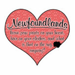Newfoundland Paw Prints Dog Humour Photo Cut Outs
