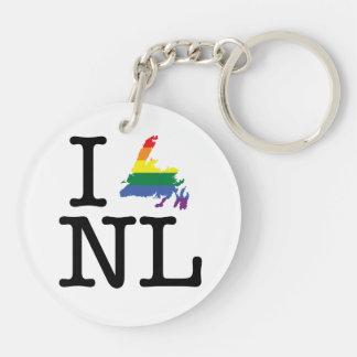 Newfoundland Pride Keychain
