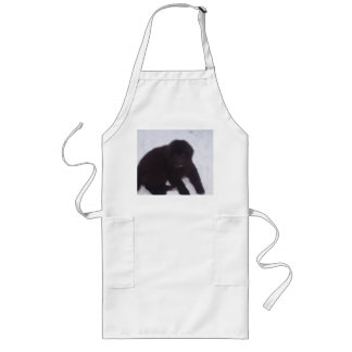 Newfoundland_puppy Long Apron