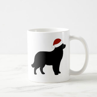 Newfoundland Santa Hat Coffee Mug