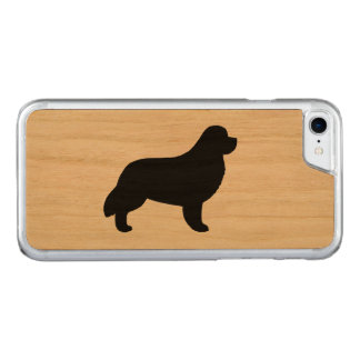 Newfoundland Silhouette Carved iPhone 7 Case