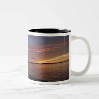 Newfoundland Sunset Two-Tone Coffee Mug