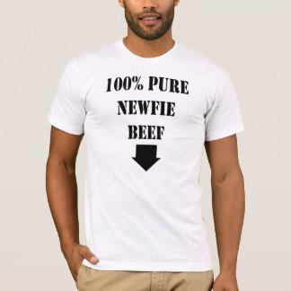 Newfoundland T Shirt Pure Newfie Beef Funny