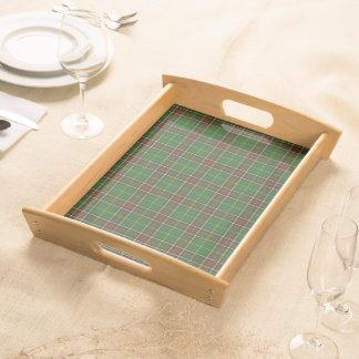 Newfoundland tartan serving tray