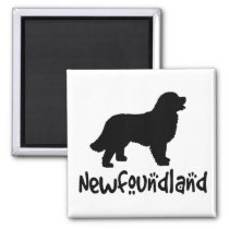 Newfoundland With Cool Text Fridge Magnets