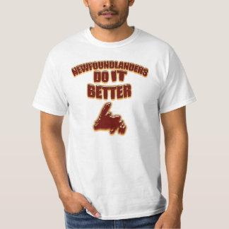 Newfoundlanders Do It Better T-Shirt