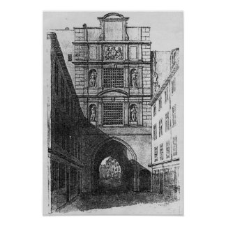 Newgate Prison Poster
