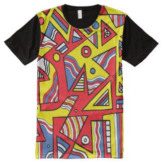 Newgent Abstract 631 Art American Apparel Men's Sh All-Over-Print T-Shirt