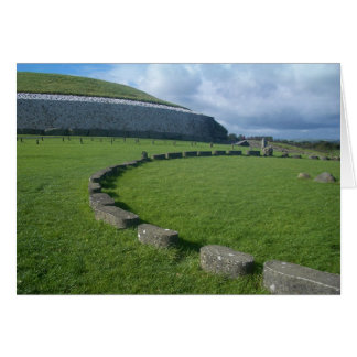 Newgrange, Ireland. Card