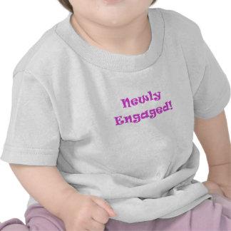 Newly Engaged T Shirts